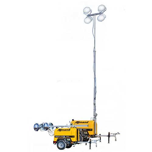 Allmand Night-Light Pro II light tower rental by US Aerials & Equipment Rental