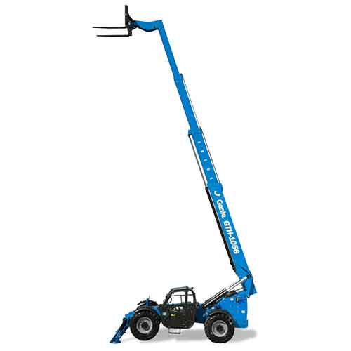 Genie GTH-1056 telehandler rental by US Aerials & Equipment Rental