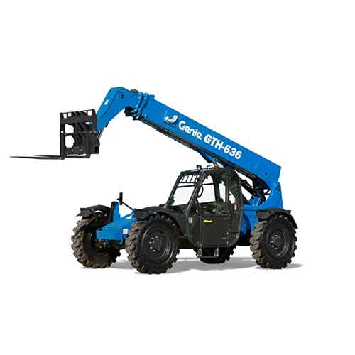 Genie GTH-636 telehandler rental by US Aerials & Equipment Rental