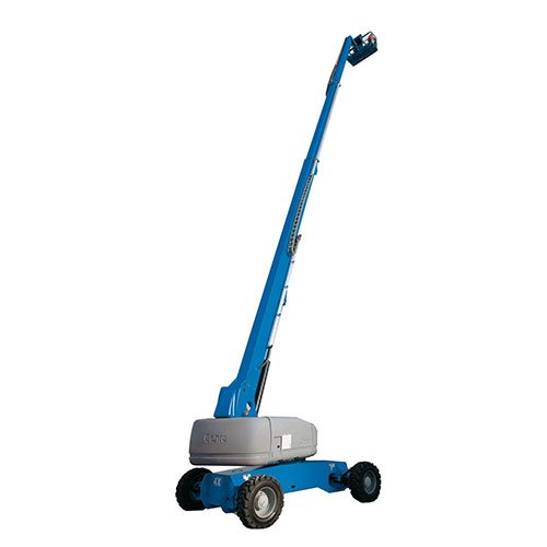 Genie S100 telescopic boom lift rental by US Aerials & Equipment Rental