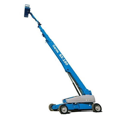 Genie SX-180 telescopic boom lift rental by US Aerials & Equipment Rental