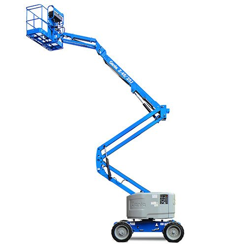 Genie Z45/25J engine powered articulating boom lift rental by US Aerials & Equipment Rental