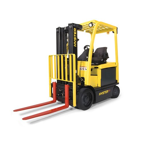 Hyster H50XMD Industrial forklift rental by US Aerials & Equipment Rental