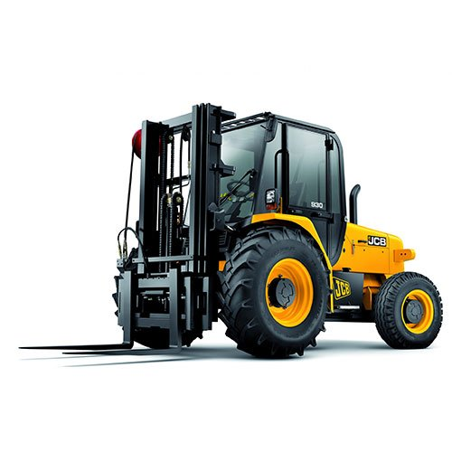 JCB 930 Rough terrain forklift rental by US Aerials & Equipment Rental