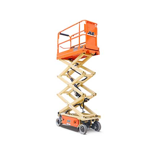 JLG 1930ES electric scissor lift rental by US Aerials & Equipment Rental