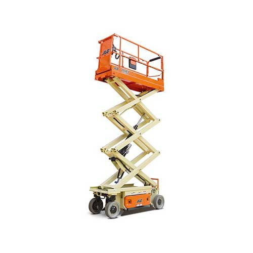 JLG 2032ES electric scissor lift rental by US Aerials & Equipment Rental