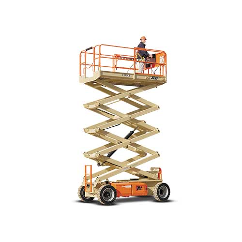 JLG 3369LE electric scissor lift rental by US Aerials & Equipment Rental