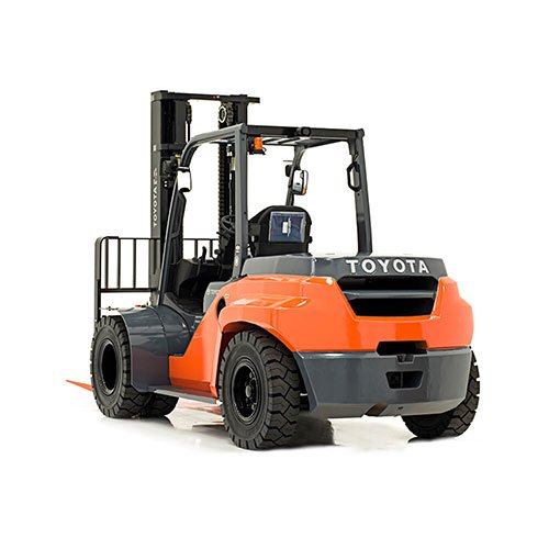 TOYOTA-8FDU25-8FDU35 industrial forklift rental by US Aerials & Equipment Rental