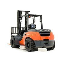 Industrial forklift rental by US Aerials & Equipment Rental